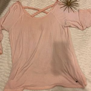 American Eagle Pink Top Soft and Sexy Size XL